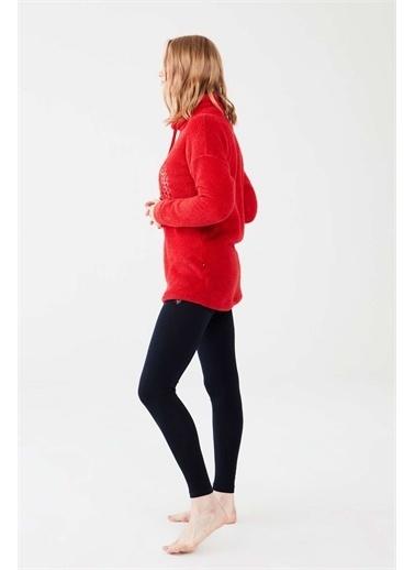 U.S. Polo Assn. U.S. Polo Assn. Kadın Lacivert Tunik Tayt Takım Kırmızı